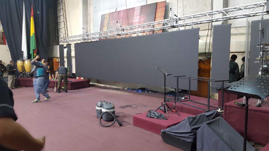 Pantalla Led Iglesia Bolivia